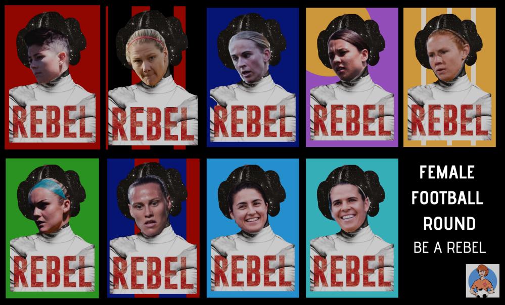 Rebel Female Football Week Banner